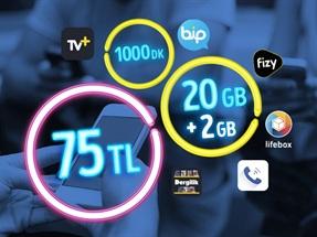 GNÇ 20 GB – Faturalı'ya Geçiş