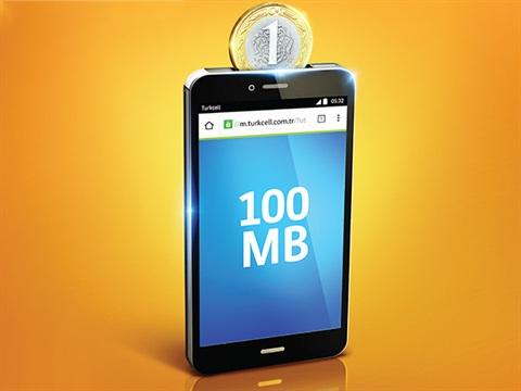 Günlük 100MB Cepten İnternet Kampanyası