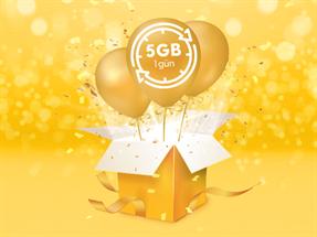 Günlük 5GB Hediye Paketi