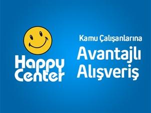 Turkcell'li kamu çalışanları, Happy Center Marketleri'nden, çok avantajlı alışveriş yapıyor!