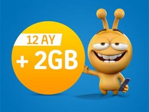 Haydi Gel 2 GB Kampanyası - Faturalı
