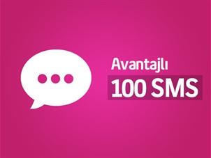 Her Yöne Avantajlı 100 SMS Paketi