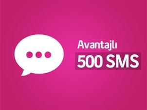 Her Yöne Avantajlı 500 SMS Paketi