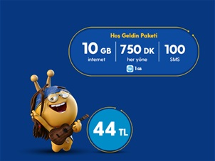 Hoş Geldin 10GB Kampanyası