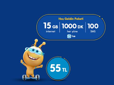 Hoş Geldin 15GB