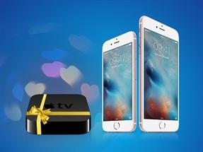 Şimdi iPhone 6s ve iPhone 6s Plus Alanlara Apple TV Bizden Hediye!