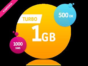 Satın Al Turbo 1 GB Yıllık Abonelik Kampanyası