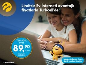 Limitsiz Yalın ADSL Giriş Kampanyası