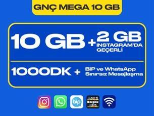 Satın Al GNÇ Mega 10 GB Kampanyası