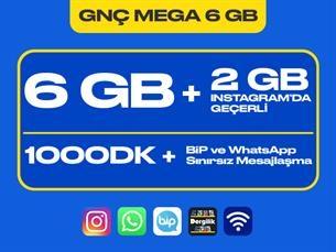 Satın Al GNÇ Mega 6 GB Kampanyası