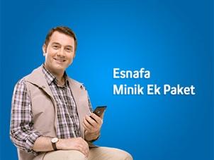 Esnafa Minik Ek Paket Kampanyası