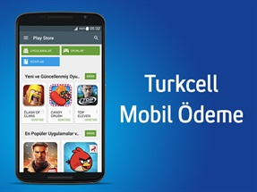 Turkcell Mobil Ödeme ile Google Play'de 100MB
