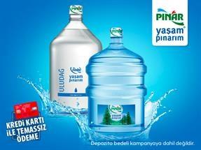 İlk Damacana Su Siparişiniz Ücretsiz!