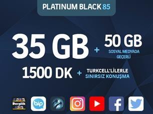 Satın Al Platinum Black 85