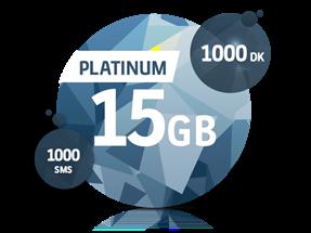 Platinum 15 GB Yıllık Abonelik Kampanyası