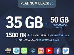 Platinum Black 85