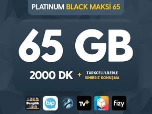 Satın Al Platinum Black Maksi 65 Kampanyası