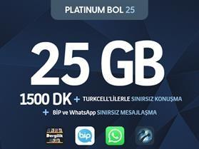 Platinum Bol 25 Paketi
