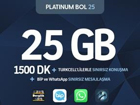 Platinum Bol 25 Kampanyası