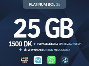 Satın Al Platinum Bol 25 Kampanyası