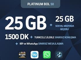 Platinum Bol 50 Paketi