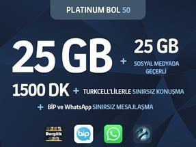 Platinum Black Bol 50 Kampanyası