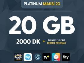 Platinum Maksi 20
