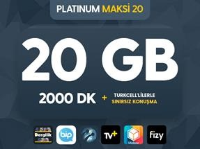 Platinum Maksi 20 Kampanyası
