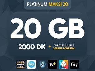 Satın Al Platinum Maksi 20 Kampanyası