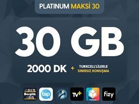 Platinum Maksi 30 Kampanyası