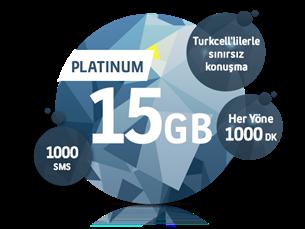Satın Al Platinum 15 GB Yıllık Abonelik Kampanyası