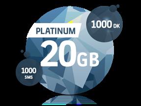 Platinum 20 GB Yıllık Abonelik Kampanyası