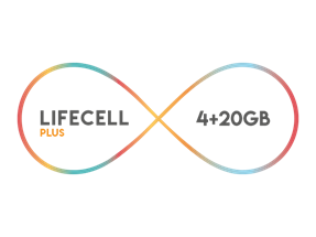 Lifecell Plus 4 GB Paketi