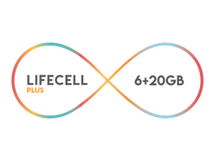 Lifecell Plus 6 GB Paketi