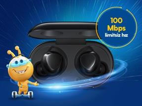 Samsung Galaxy Buds+ ile 100 Mbps Hız Şenliği Kampanyası