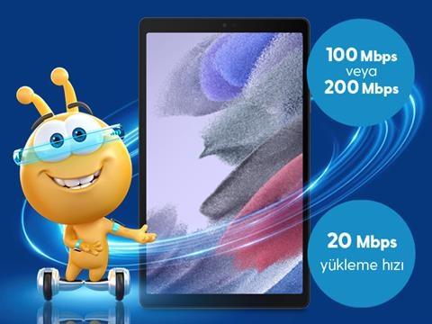 Samsung Galaxy Tab A7 Yüksek Hız Kampanyası