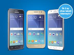 4.5G Akıllı Telefon Kampanyası (SamsungGalaxy J2-J5-J7)