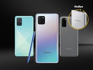 Samsung Taşınabilir Hızlı Şarj Cihazı Hediye