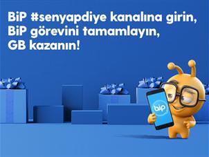 #SenYapDiye BiP Yeni Yıl Arama Kampanyası