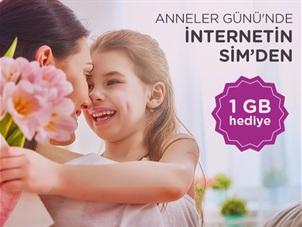 SİM Anneler Günü Haftalık 1GB İnternet Kampanyası