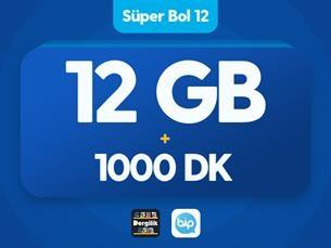 Satın Al Süper Bol 12 GB