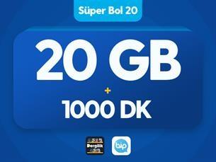 Satın Al Süper Bol 20 GB