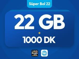 Satın Al Süper Bol 22 GB