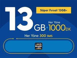 Satın Al Süper Fırsat 13GB+ Yıllık Abonelik Kampanyası