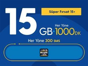 Satın Al Süper Fırsat 15GB+