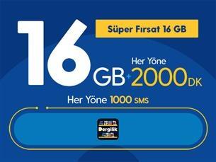 Satın Al Süper Fırsat 16GB Yıllık Abonelik Kampanyası