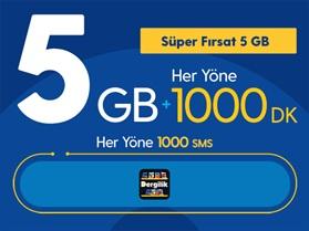 Süper Fırsat 5GB