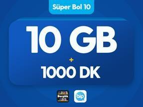 Süper Bol 10 GB