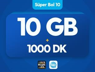 Satın Al Süper Bol 10 GB