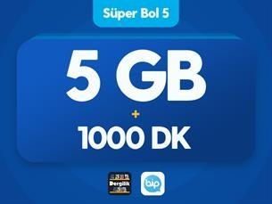 Satın Al Süper Bol 5 GB
